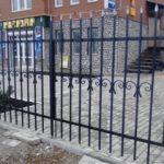 Ворота из прутка круглого